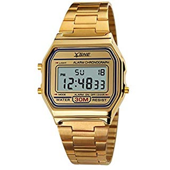 Analog digital watch