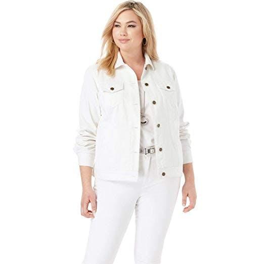 Women's Plus size denim jacket