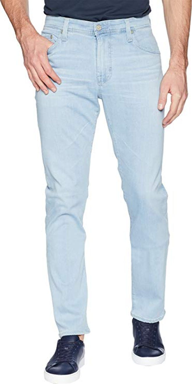 Light colored mens jeans