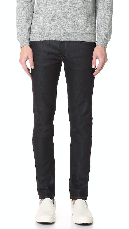 Mick Raw Denim Skinny Jeans