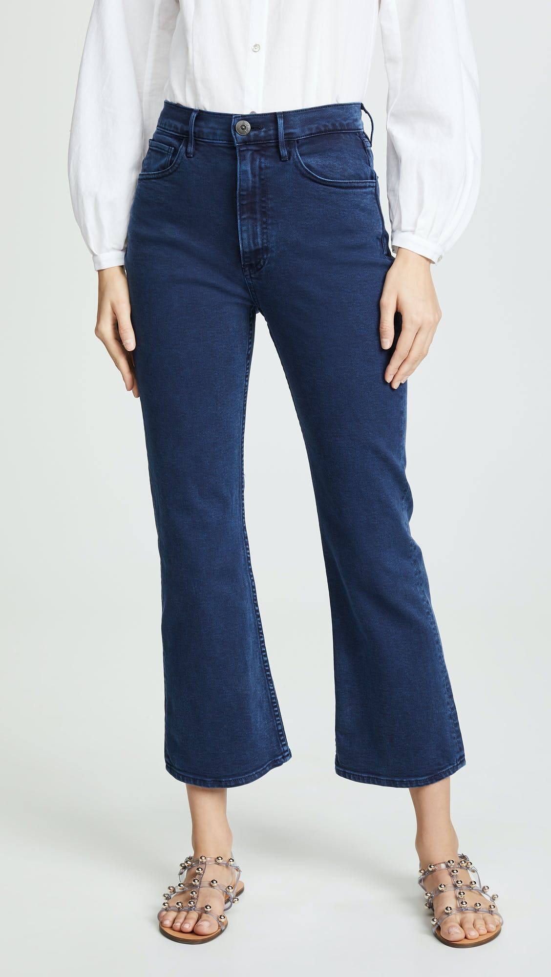 Empire Crop Jeans