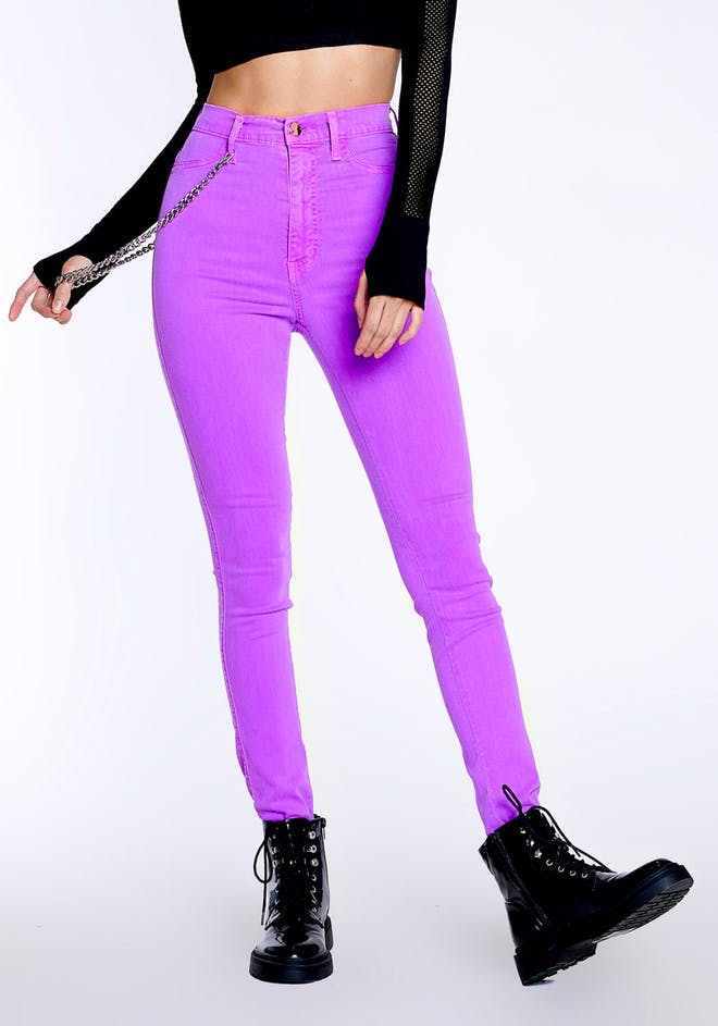 Neo Berry Skinny Jeans