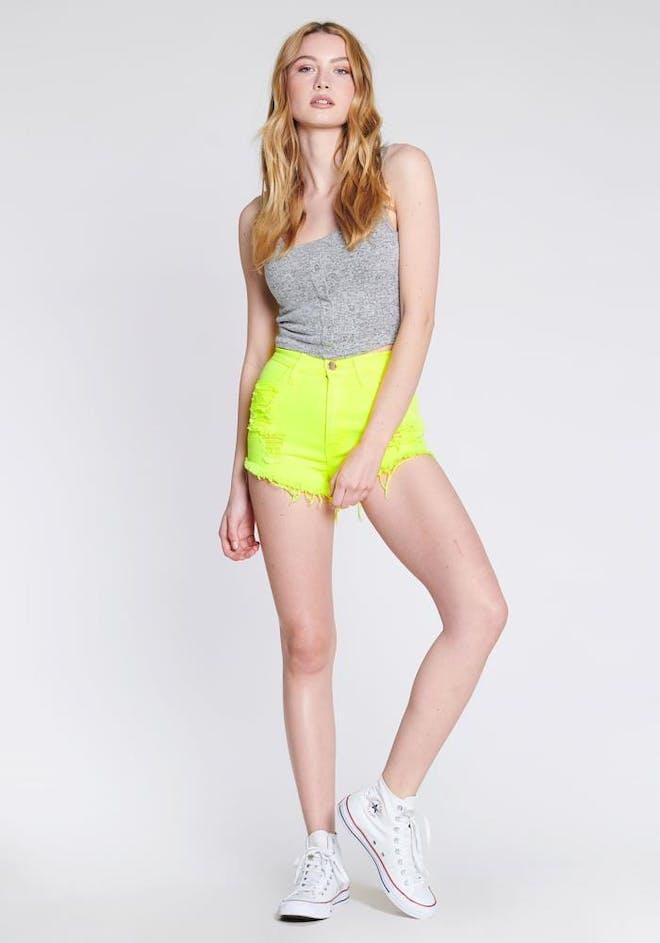 P201 NY - Neon Joyride Shorts