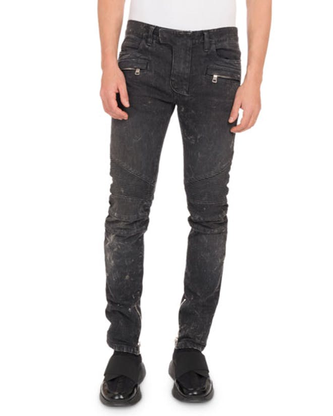 Balmain Jeans with zippers