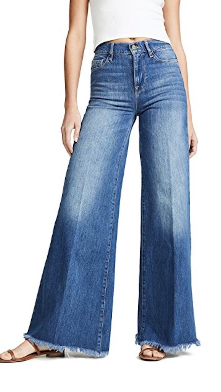 LePlazzo Wide Leg Jeans