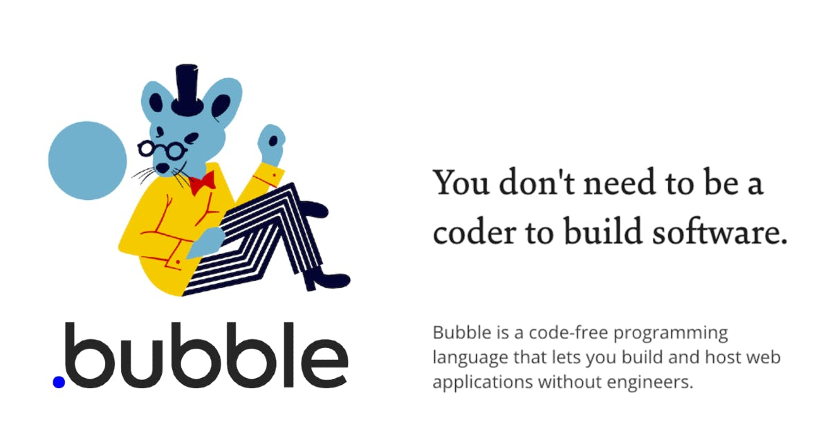 The best way to build web apps without code | Bubble