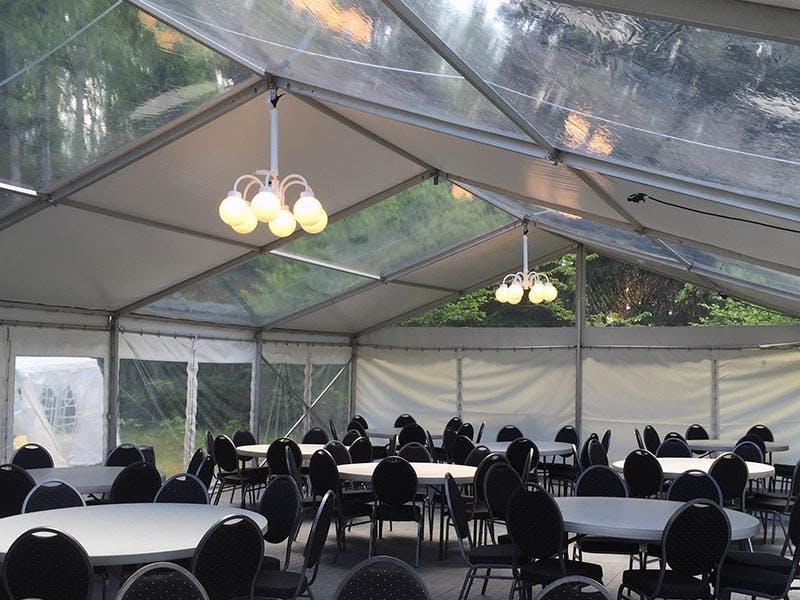 Hyra tält till Panoramatält Rent a Tent Stockholm