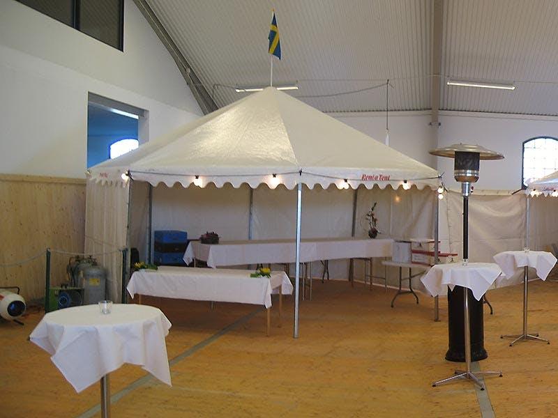 Hyra tält till Inomhuslösningar Rent a Tent Norrköping